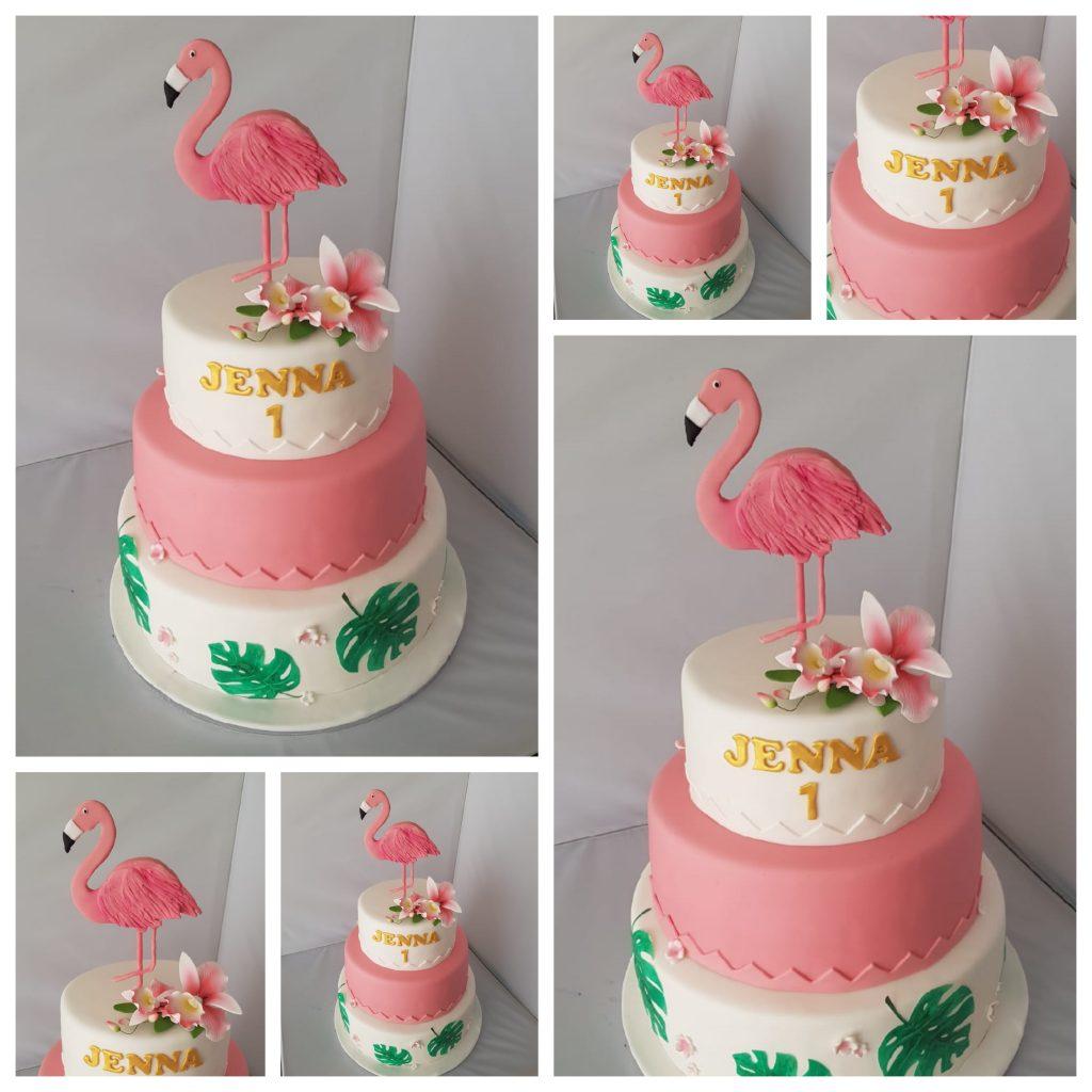 Flamingo Taart